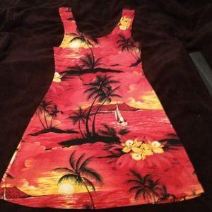 Sundress spandex stretch adorable tropical 👗